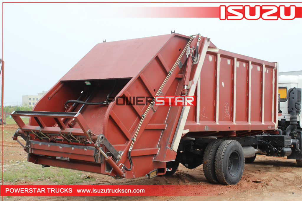 China best factory for Rear Loader bodies