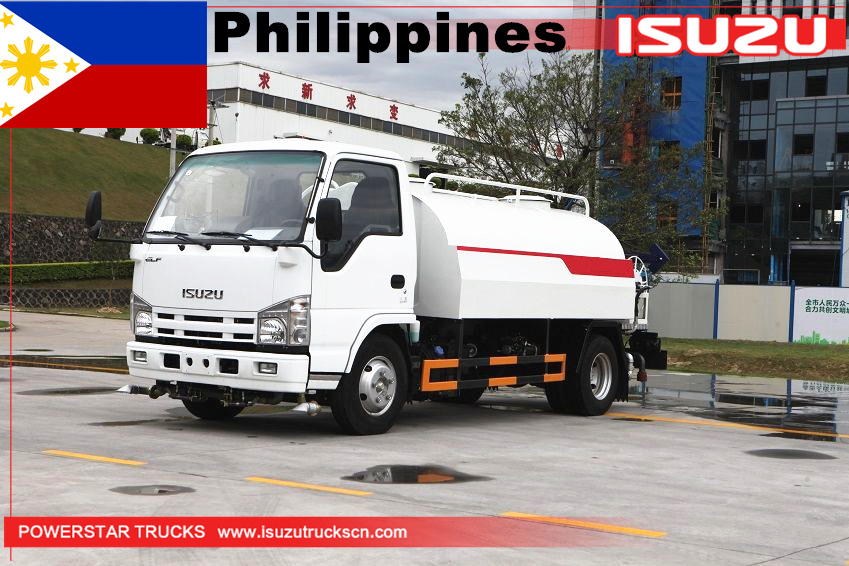 Philippines - 1 unit ISUZU Water Bowser Tankers