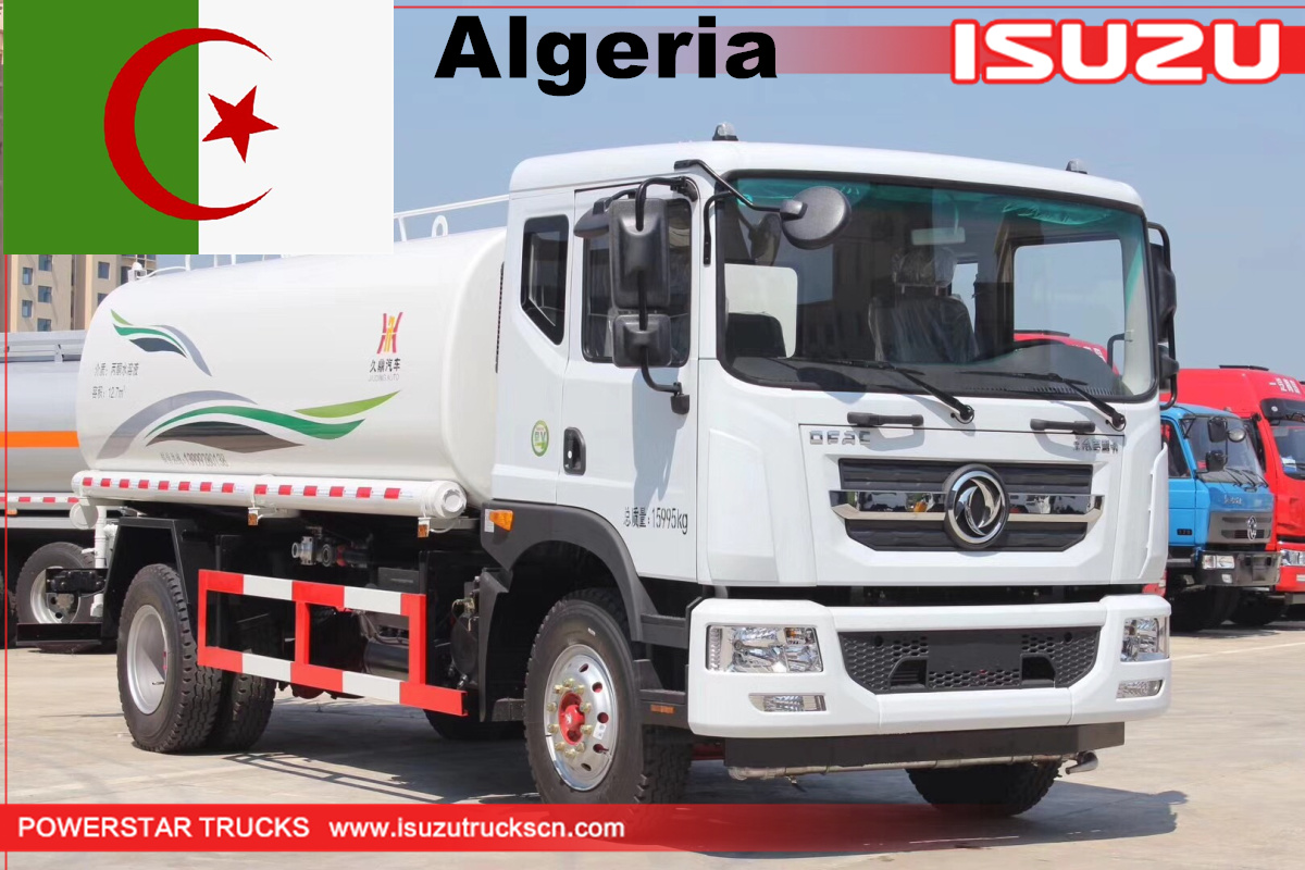 Algeria - 8 Units China Water Bowser Tanker