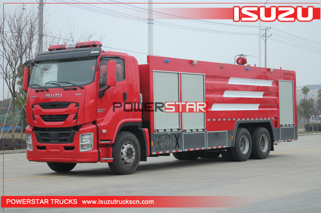 ISUZU GIGA VC61 Emergency Form Fire fighting truck