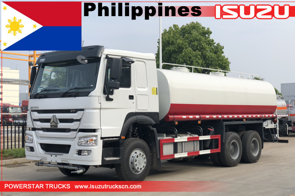 Philippines- 1unit of 20cbm HOWO Water Bowser