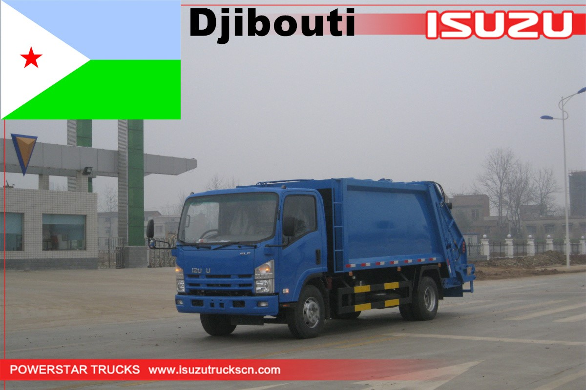 Djibouti - 1 Unit Isuzu Refuse Compactor Vehicle