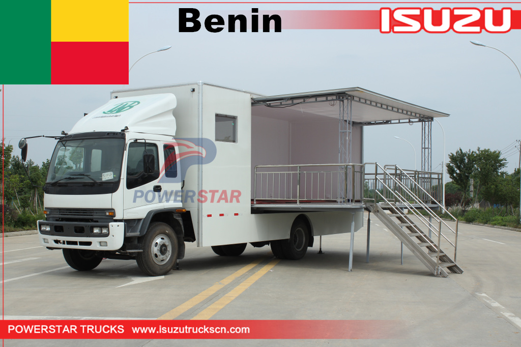 Benin - 1 unit ISUZU Mobile Vote StageTrucks