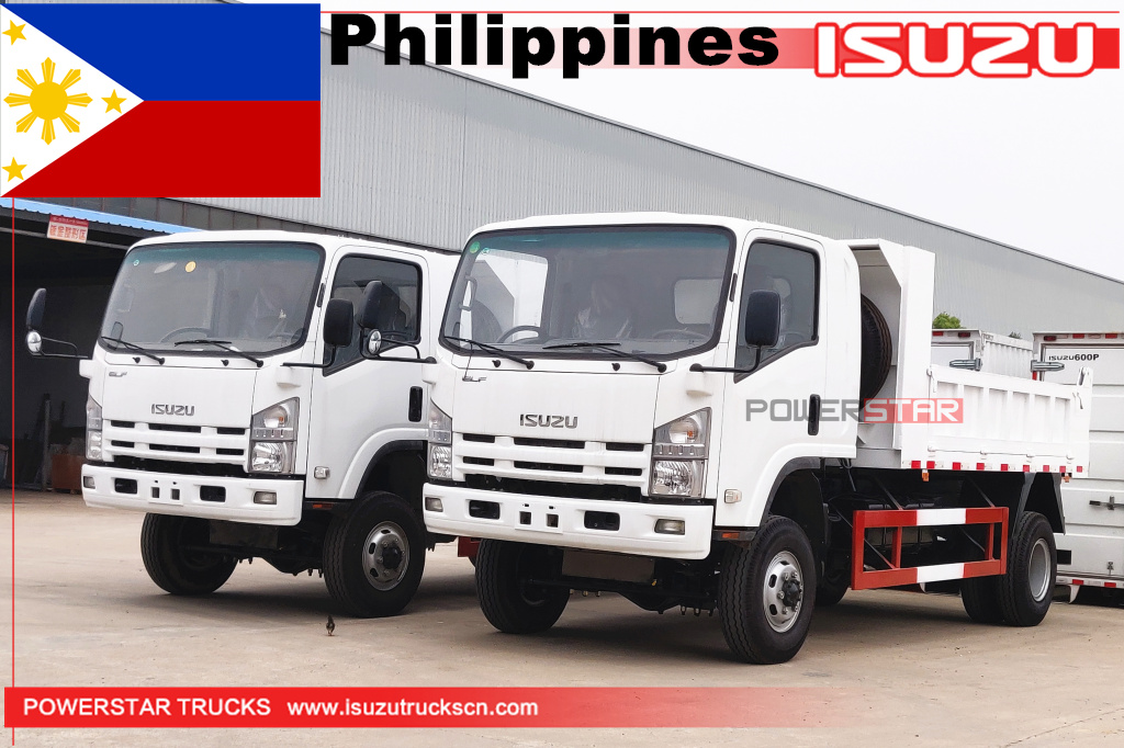 Philippines - 2 unit 4x4 Isuzu mini dump trucks