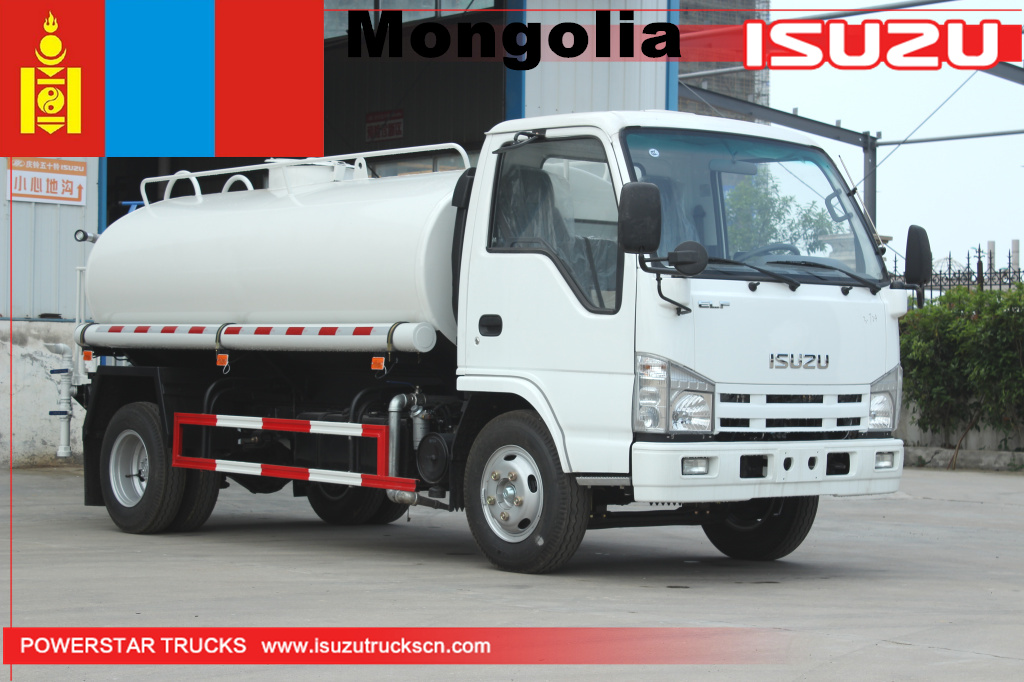 Monglia - 1 unit ISUZU Water Spray Tanker Trucks
