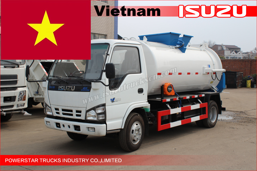 Mobile Kitchen Garbage Truck for Vietnam