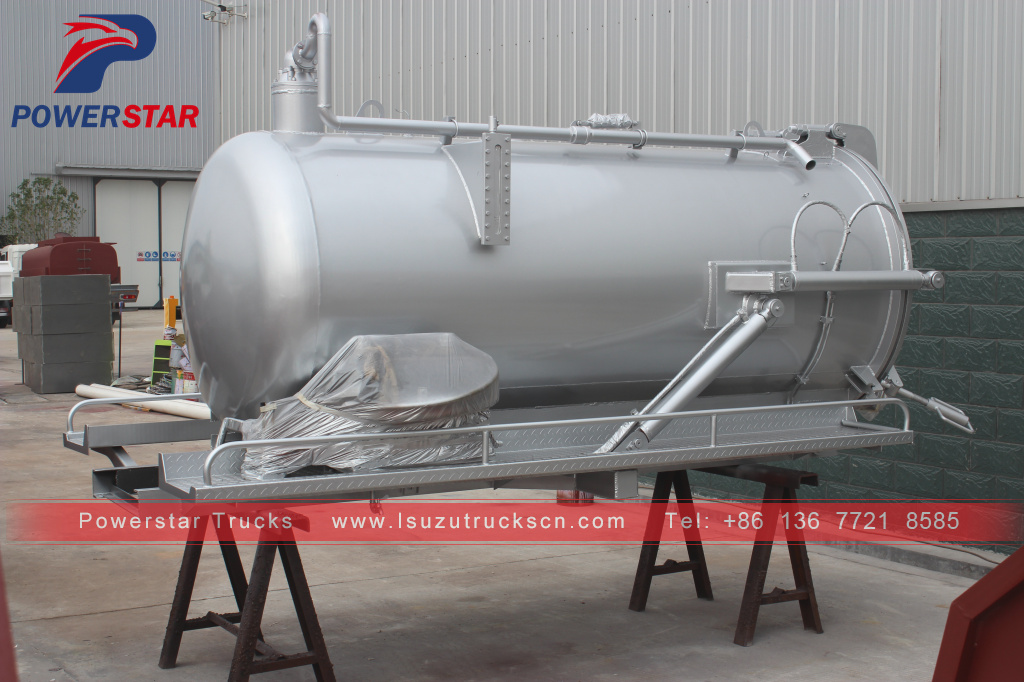 Philippines vacuum tanker body kits for sale