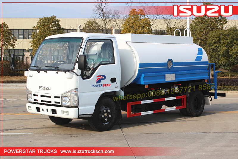 Customer build water truck ISUZU water bowser