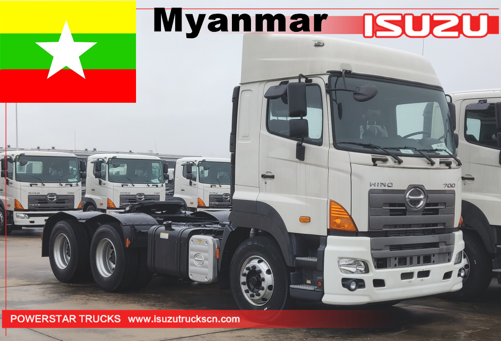 Myanmar 5-units HINO Prime Mover
