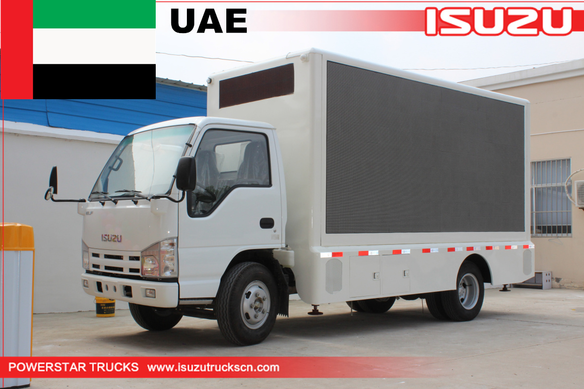 UAE - 1 Unit LED Screen outdoor truck ISUZU