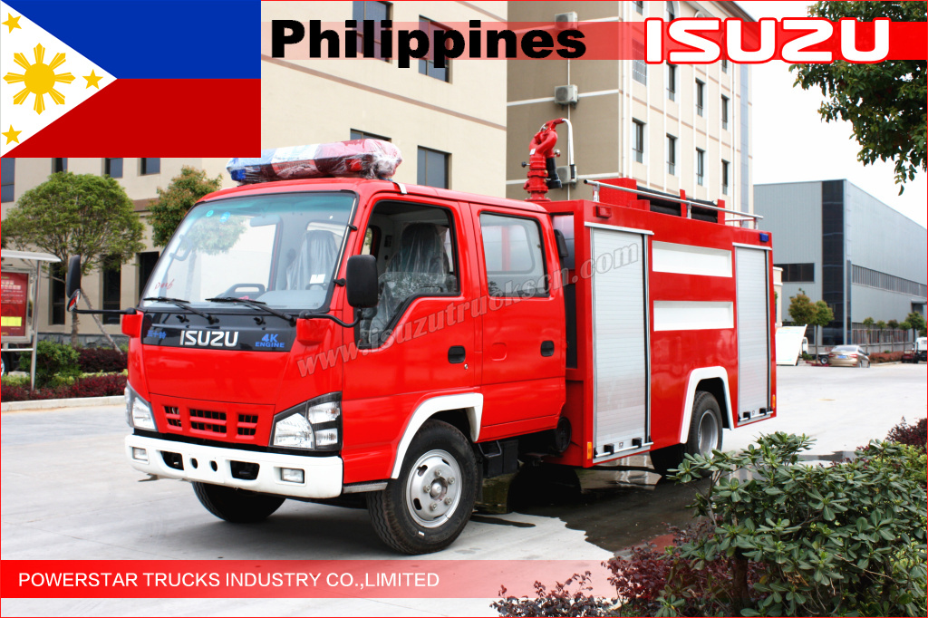 Fire water truck ship to Philippines