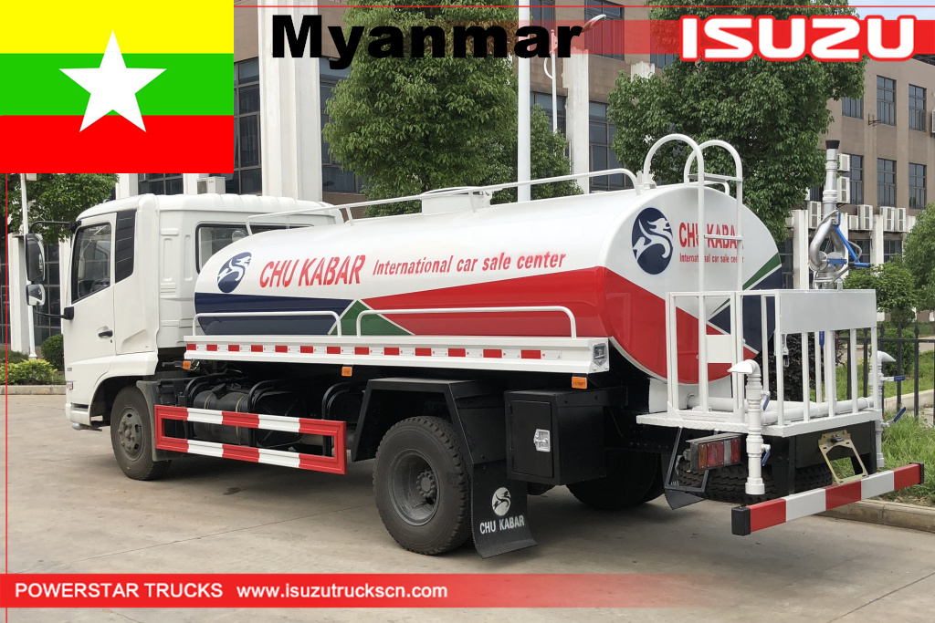 Myanmar - 2 units of Dongfeng Water Bowser