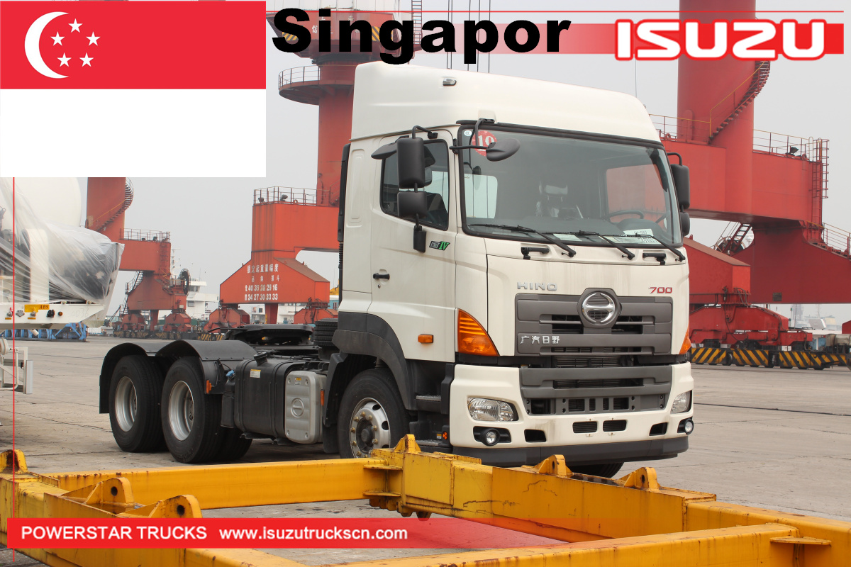 Singapore - 100 Units GAC Hino Prime Mover and Cement trailer