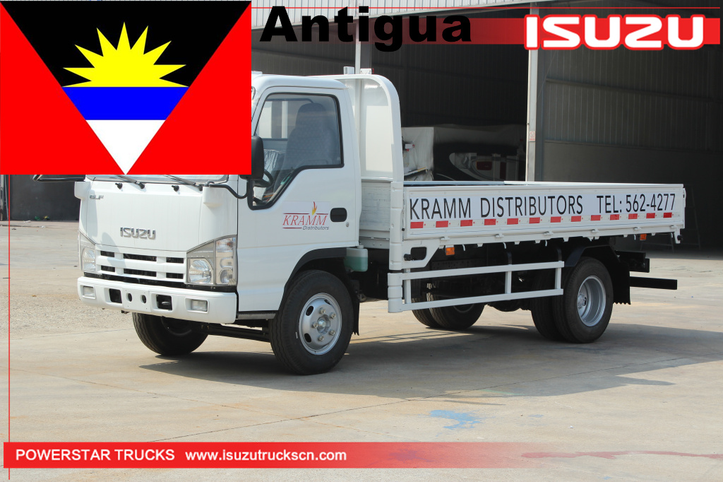 Antigua -  1 unit ISUZU Dropside Cargo Trucks