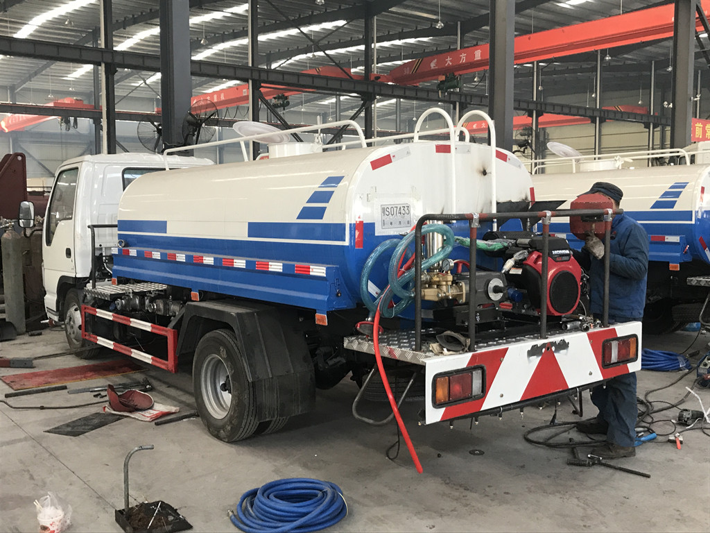 5cbm brand new Isuzu Water Bowser Tank Trucks for sale Philippines
