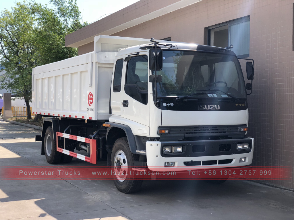 Myanmar Isuzu Garbage Dump Truck for sale