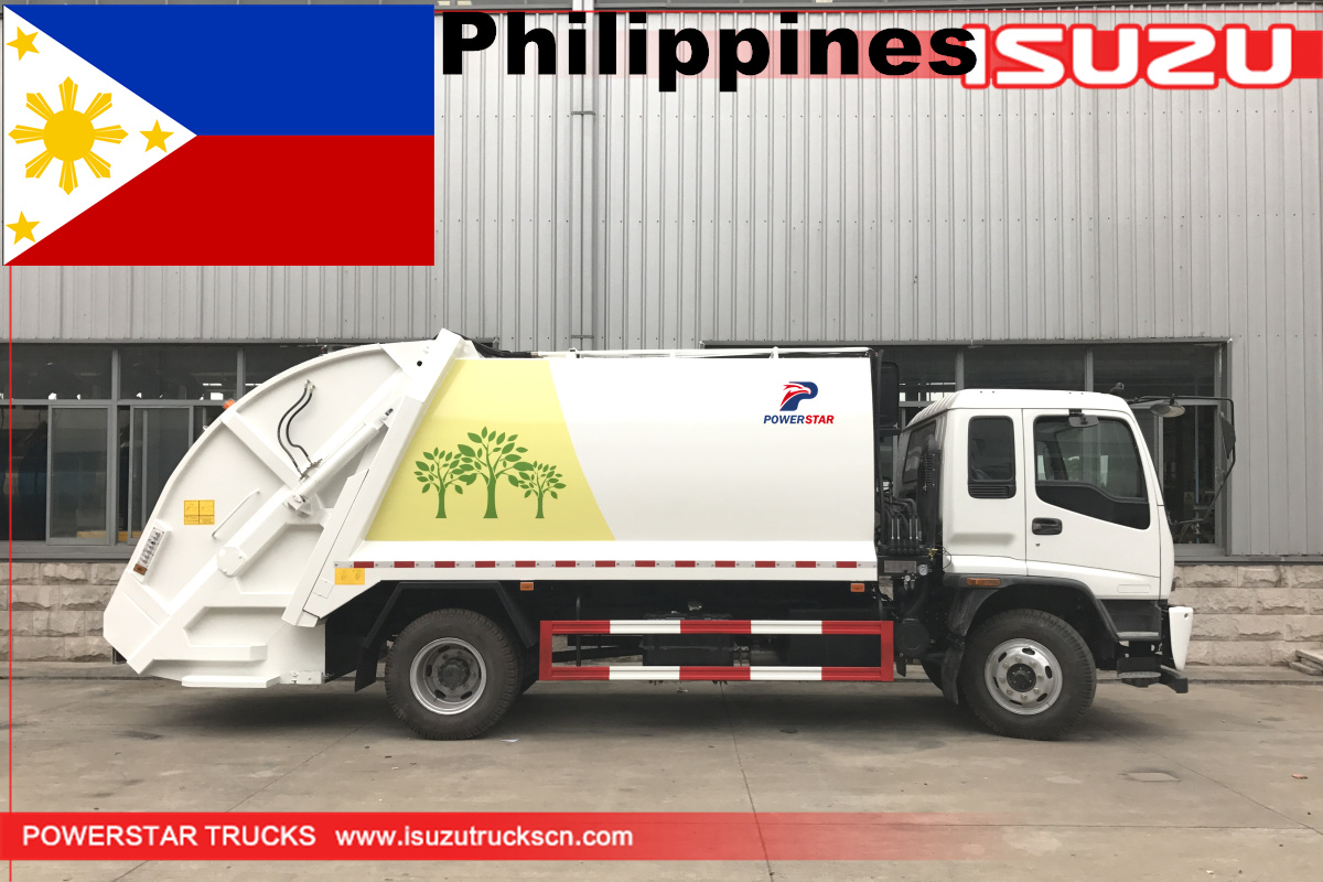 Philippines - 1 Unit 14cbm Isuzu Refuse Compactor Vehicle