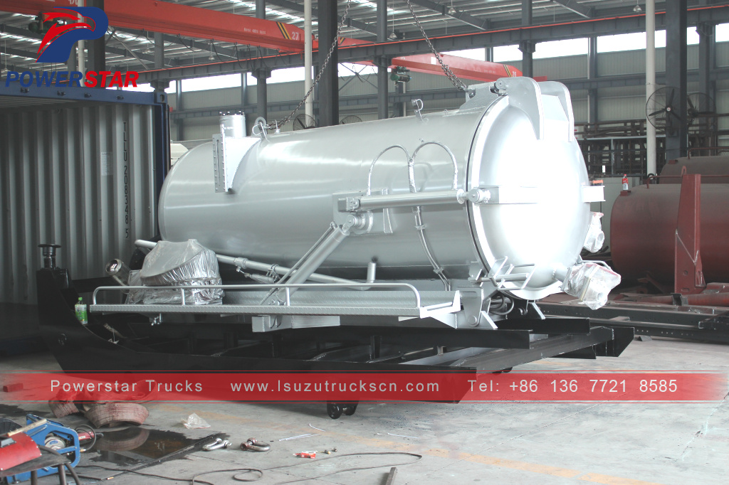 How to ship sewage tank body kit to Africa?