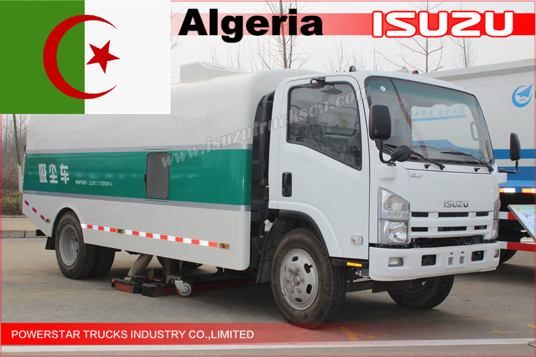 Efficient Dirty-Vacuum Sweeper Truck—Algeria