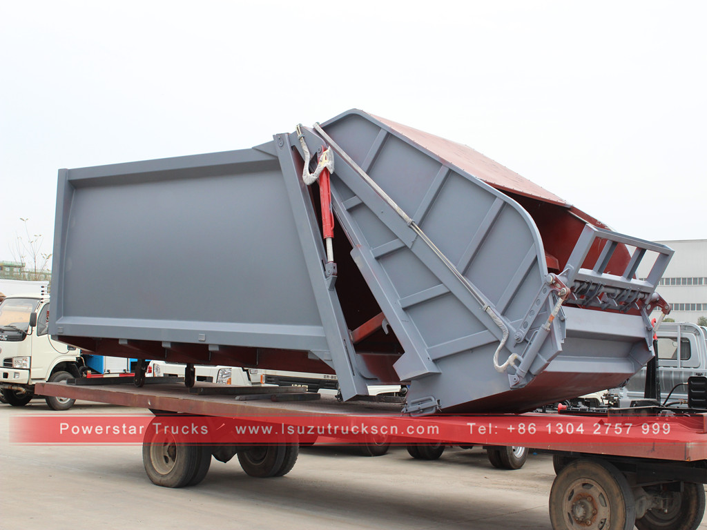 12m3 Factory Garbage compactor super structure body kit for sale to Philippines