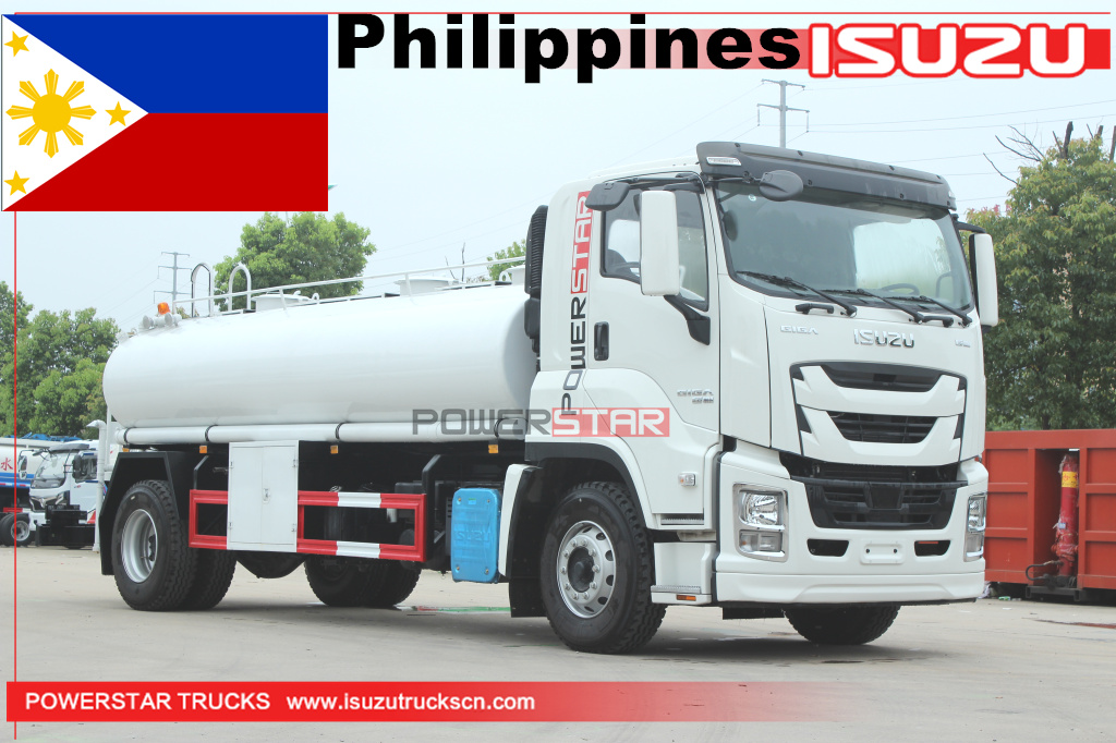 Philippines -1 unit ISUZU GIGA VC61 drinking water delivery truck