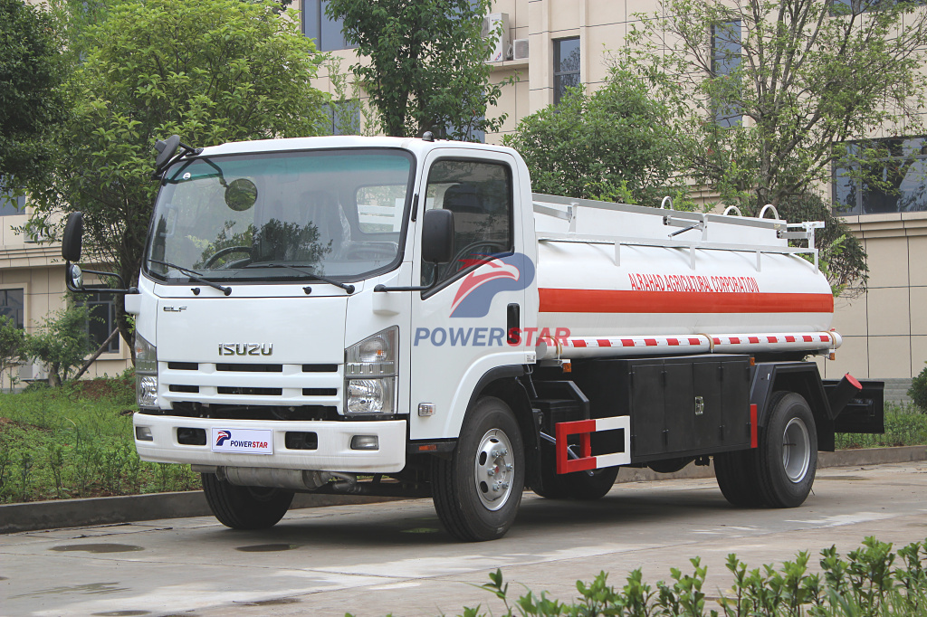 5,000L Refueling Tanker Truck For Dubai