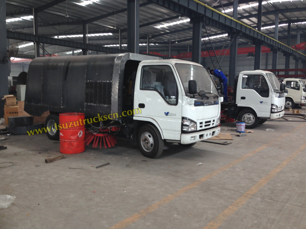 Powerstar Trucks Street Road sweeper truck workshop