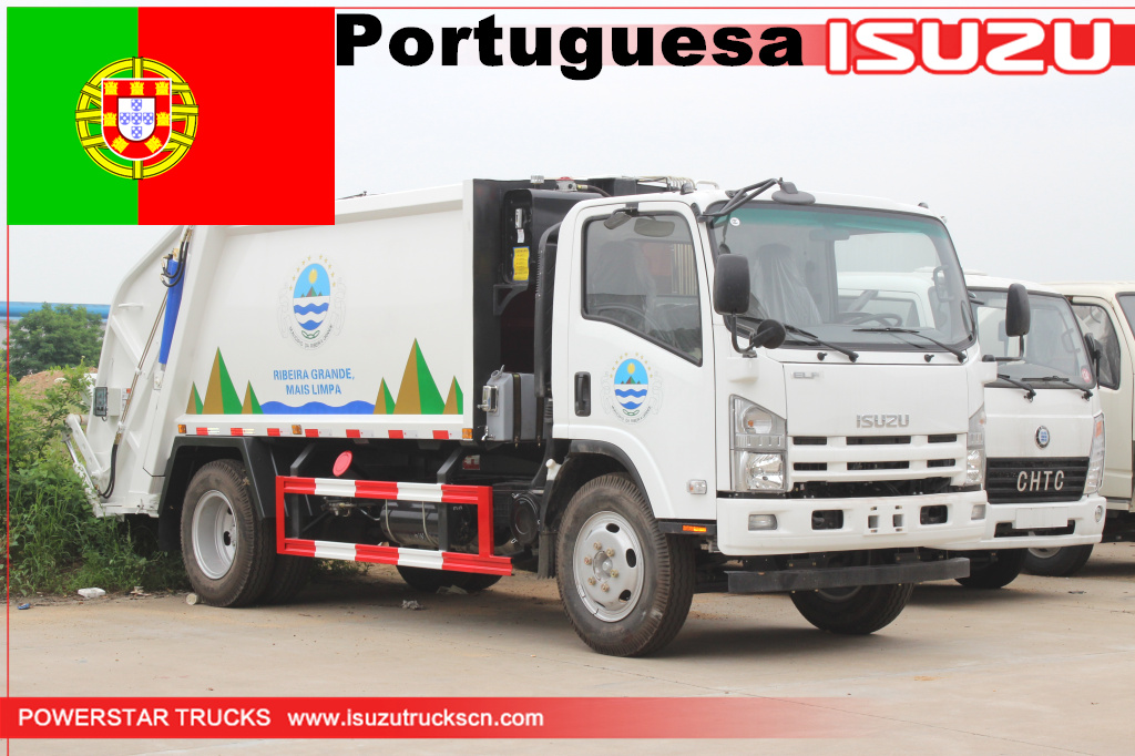 Portuguesa - 1 unit of Rear loader Vehicle Isuzu
