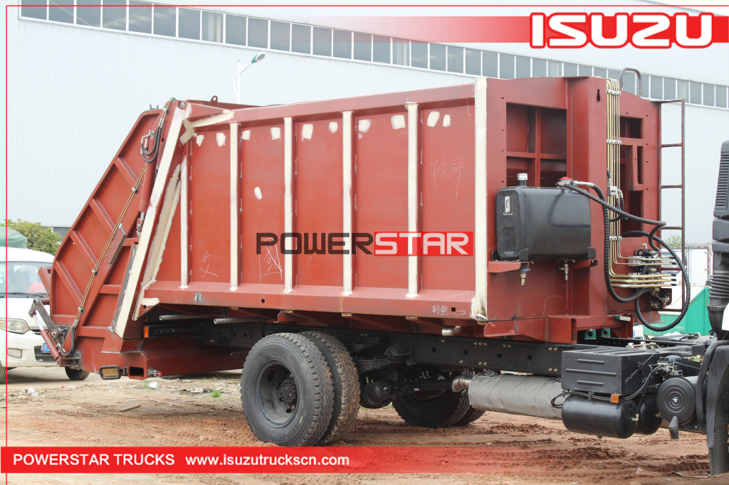8Ton 10Tons Compression Garbage Truck Body Kit