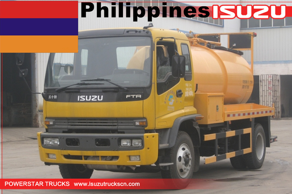 Philippines - 1 Unit ISUZU Water Jetting Vehicle